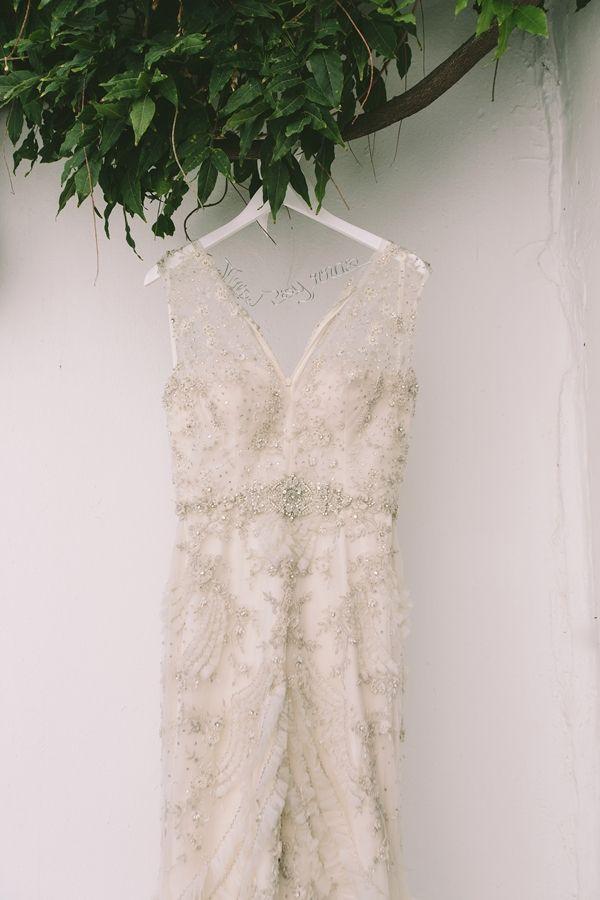 Beaded mermaid wedding dress | Wedding in Skiathos