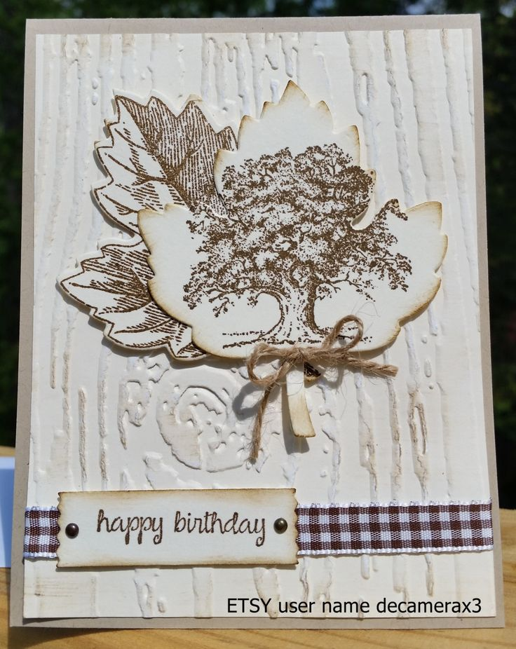 Handmade BIRTHDAY Fatheru0027s Day Get Well Card