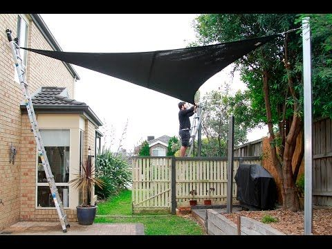 How to install a shade sail | Coolaroo