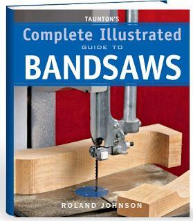 Ah! E se falando em madeira...: Book guia para serra de fita