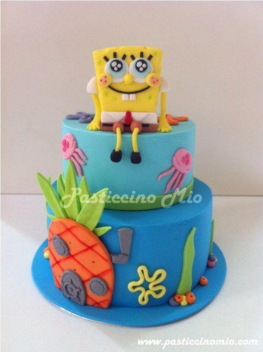 20 best Cakes Sponge Bob images on Pinterest Sponge bob