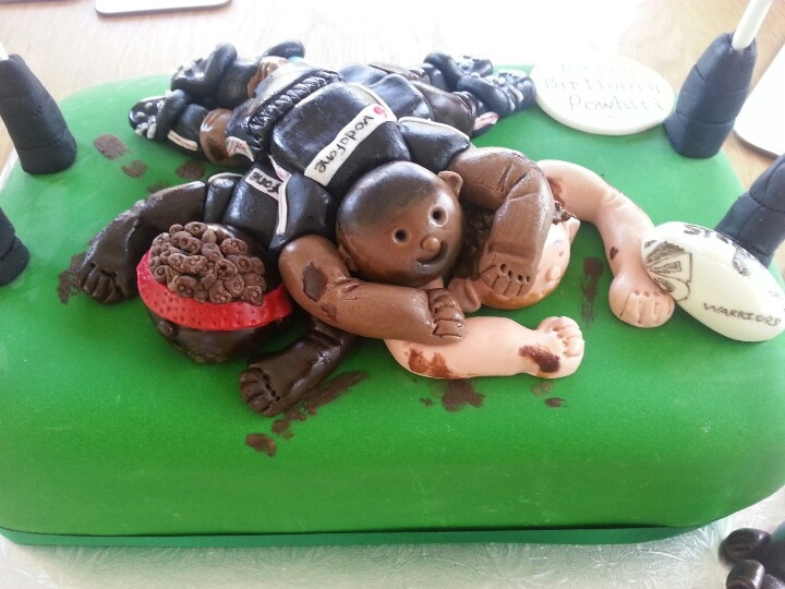 Warriors Rugby League Birthday Cake.