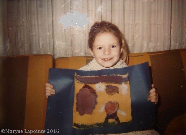Moi à 5 ans.