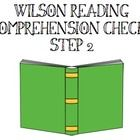 Ever want a quick comprehension check for student reading passages from the Wilson reading books? Ever need an independent activity for students to...