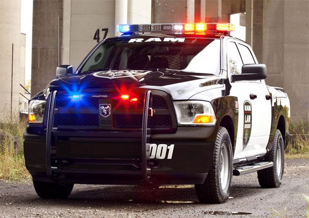 2012 Ram 1500 Crew Cab 4x4 Police Truck.  Awesome!