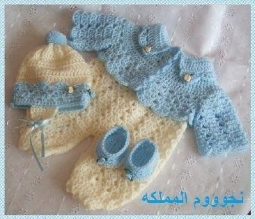 Вязание детские костюмы и комплекты со схемами