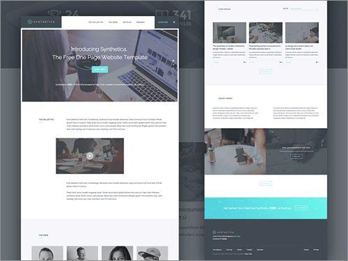 商用無料でしかも高品質!レスポンシブ対応、HTML5/CSS3で作成されたテンプレートのまとめ  最近のWebページで人気のある縦長ページ、繊細なインタラクション、大きい写真画像を使ったヘッダ、カード型コンポーネントなど、UIデザインのトレンドが取り入られたHTML5/CSS3で作成された商用利用
