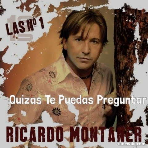 "-- #LyricArt for ""Tan enamorados"" by Ricardo Montaner"