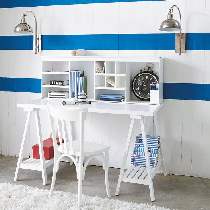 images of kids desk stations for 3 | Home-Styling: Kid's Working Spaces * Espaços De Trabalho Para ...