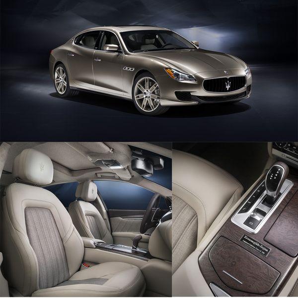 Ermenegildo Zegna et Maserati  - Auto : démarquez-vous