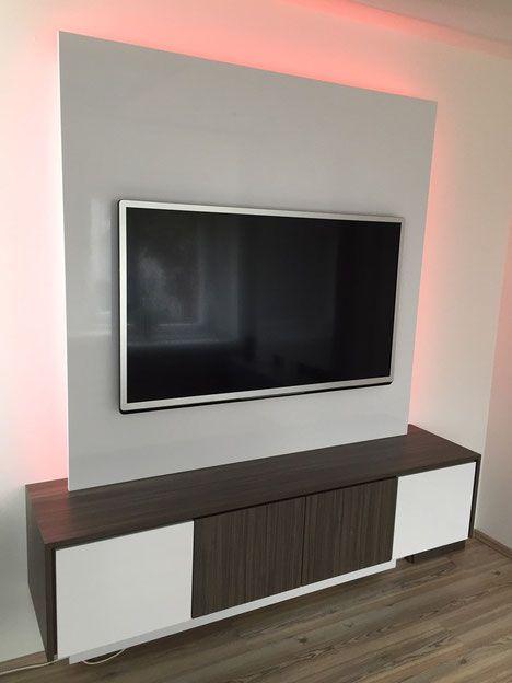 Referenzen - TV WALL TV Wand | Fernsehwand aus Schreinerhand