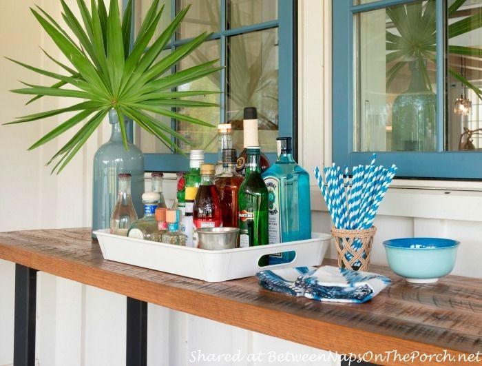 Tour The Beautiful 2014 Southern Living Idea House In Bluffton South Carolina Bar Set UpCoffee