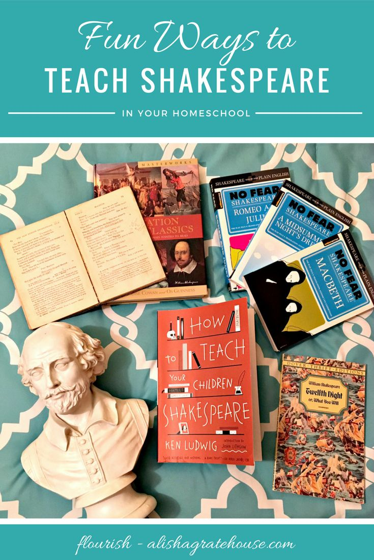 Studying the Bard of Avon really can be enjoyable, both to you and your kids. Use these tips as fun ways to teach Shakespeare in your homeschool.