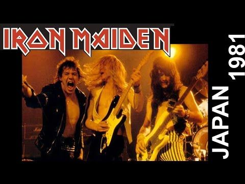 IRON MAIDEN – Live Japan 1981 The band live at the time of the second album, with Paul Di Anno on vocals. One of the best epoch of Iron Maiden… They don't play some of these songs live since a long time! Clear sound, great gig!