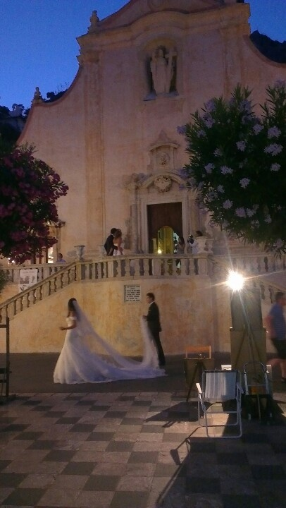 A wedding in Taormina, Italy <3