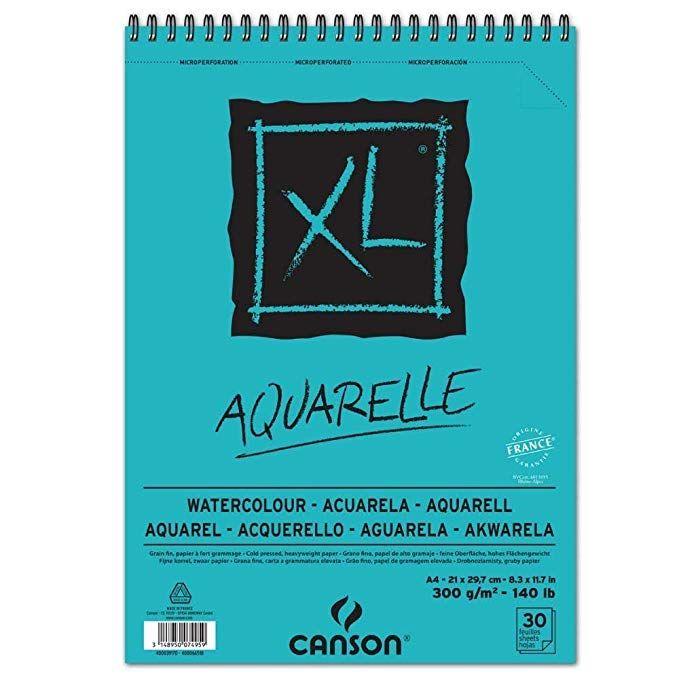 Canson 400039170 Bloc Dibujo Con 30 Hojas A4 21 X 29 7 Cm Cuadernos De Bocetos Materiales De Dibujo Papel Para Dibujar