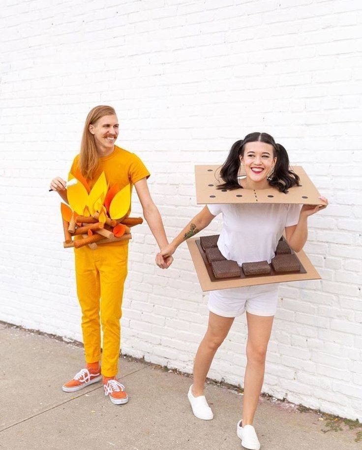déguisementsdhalloweenfaitsmain in 2020 Couples
