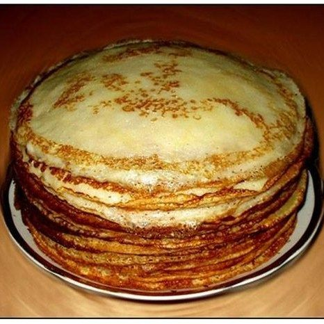 Тонкие блинчики без яиц рецепт – завтраки. «Афиша-Еда»