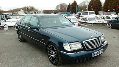 Stunning Mercedes W140 V12 S600 to include Classic Private Reg - NO RESERVE