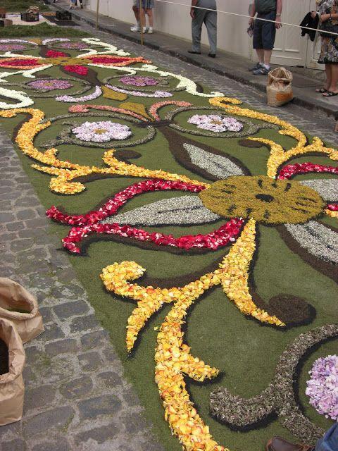 17 mejores im genes sobre alfombras de flores naturales en for Alfombras el mundo