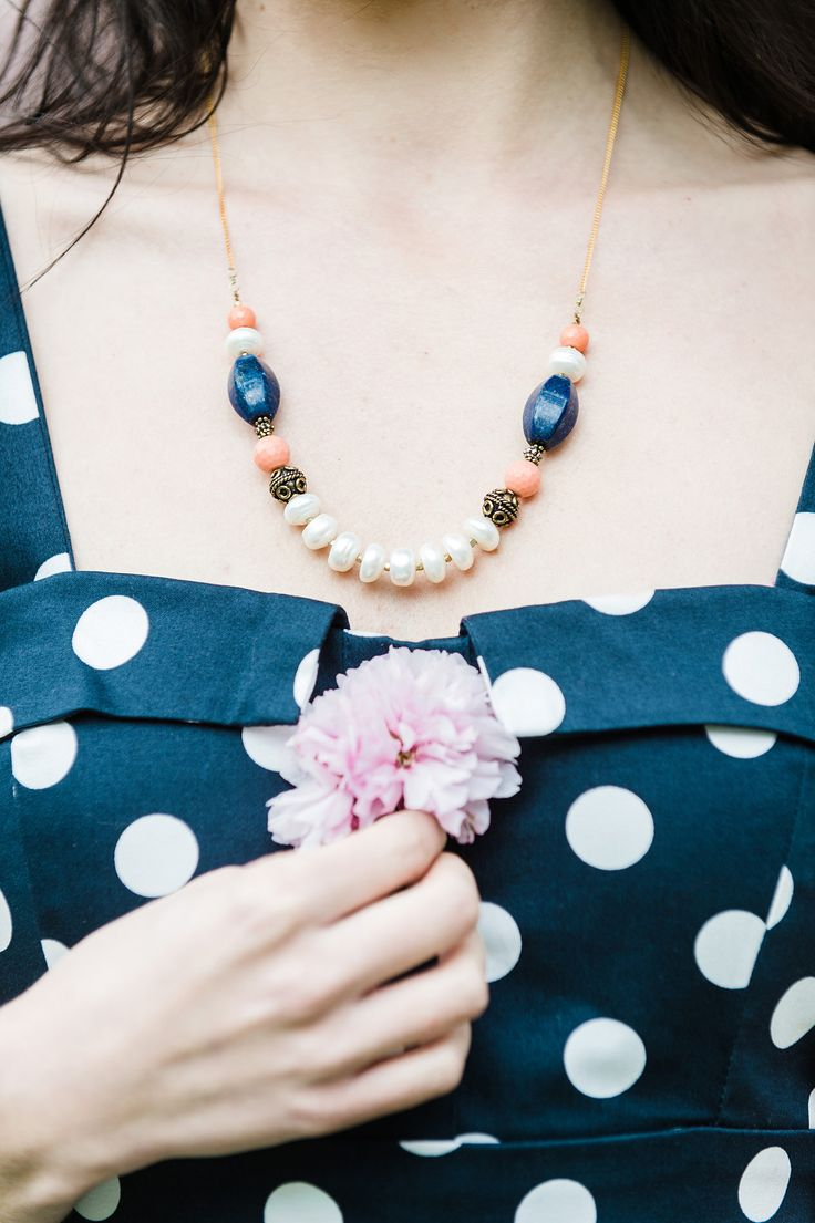 Blush Bouquet Necklace