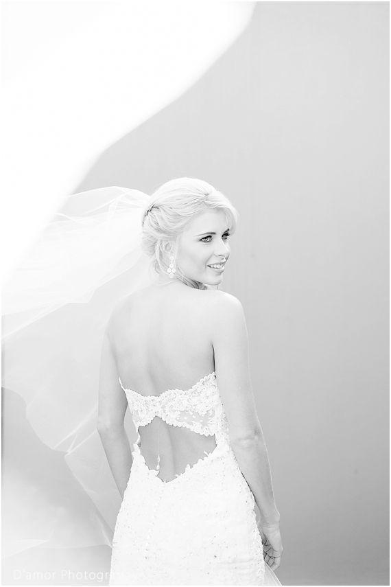 open back wedding dress | White Wedding Wonderland at Thaba Ya Batswana | http://damorphotography.co.za/ben-estune-white-wedding-wonderland-at-thaba-ya-batswana/
