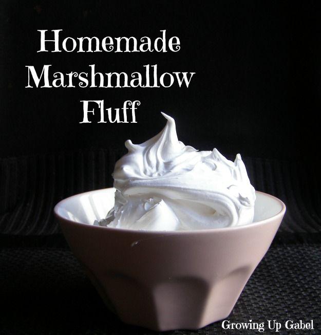 Marshmallow Fluff from growingupgabel.com @thegabels #recipe