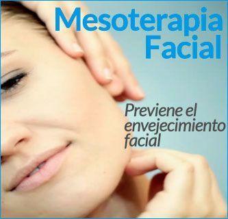 Mesoterapia Facial - MEDICINA ESTETICA - Clinicas Vicario