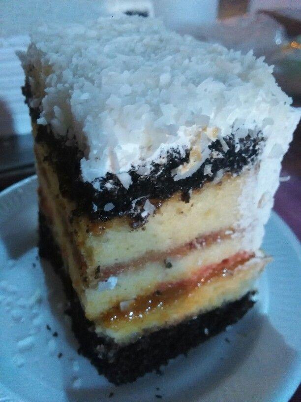 Torta blanca nieves.