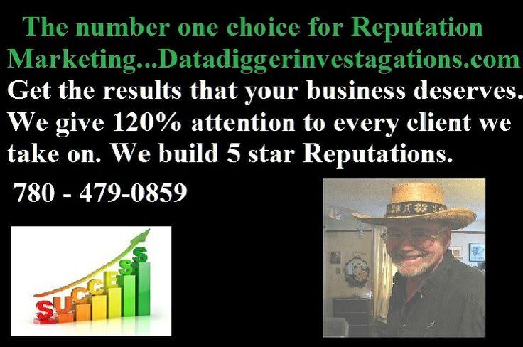 I build 5 star businesses. datadiggerinvestagations.com  http://gplus.to/datadigger