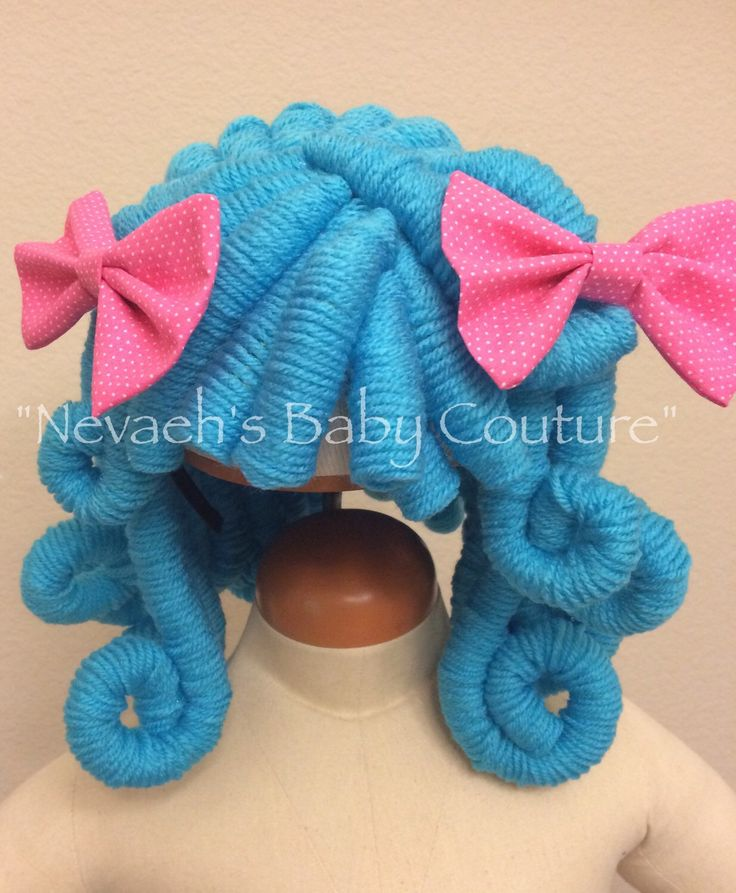 Lalaloopsy Doll Yarn Wig Rosy Bumps and Bruises by Nevaehsbabycouture on Etsy https://www.etsy.com/listing/252121673/lalaloopsy-doll-yarn-wig-rosy-bumps-and