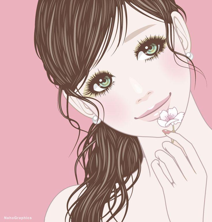 【web】http://naho.tv/ 【twitter】twitter/NahoGraphics 【Youtube】https://www.youtube.com/channel/UC81jOID4X2mNtjh47jp02oQ 【instragram】https://www.instagram.com/naho_note/  #illustration#drawing#art#design#fashion#hair#hairstyle#face #design#イラスト#イラストレーション#アート#女性イラスト#ドローイング #絵 #make #メイク #ネイル #女の子 #girl #woman #女性 #ファッション #ロング #春 #spring #桜 #さくら