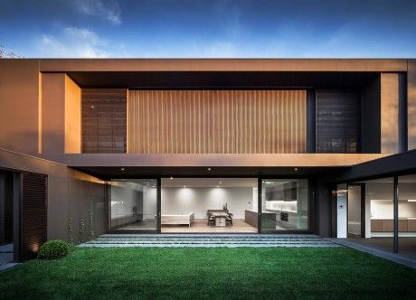 Amazing single family residence situated in Melbourne, Australia, designed by Urban Angles.