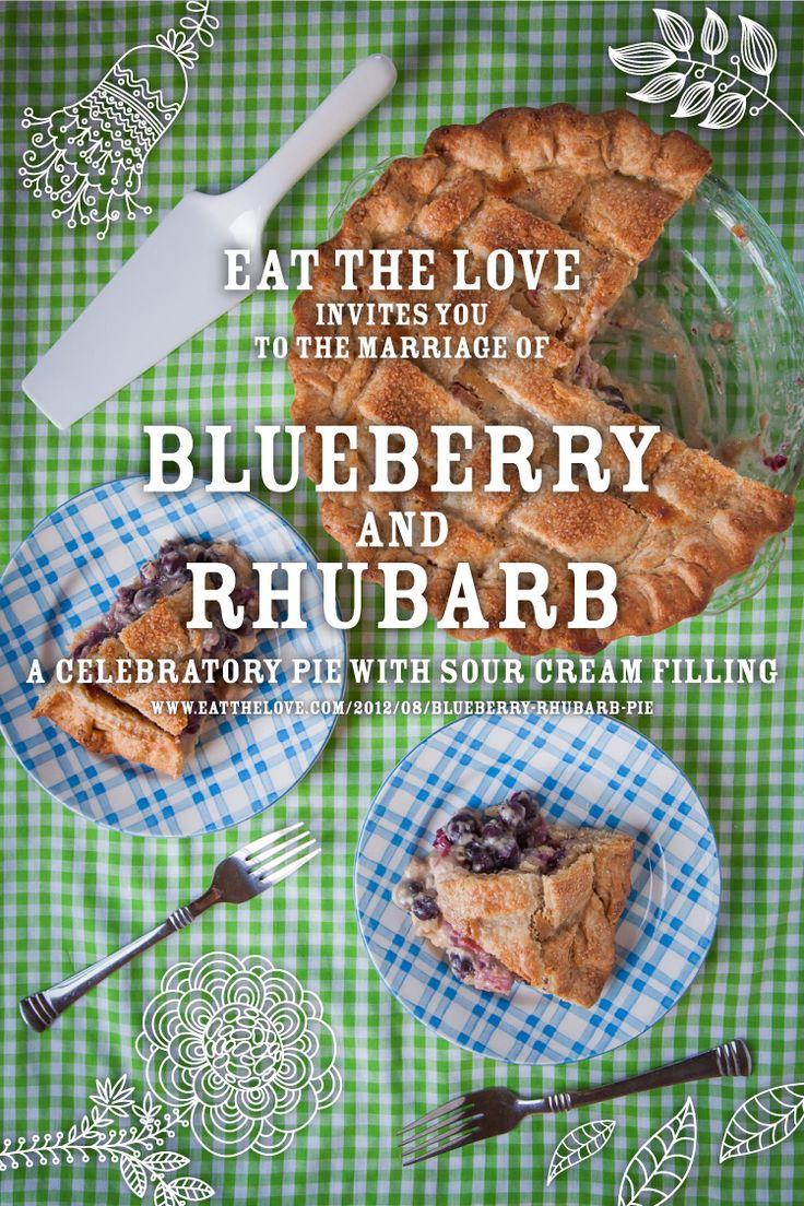 Blueberry-Rhubarb-Cream-Pie
