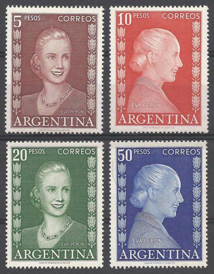 argentina 1952/3 ESTAMPILLAS