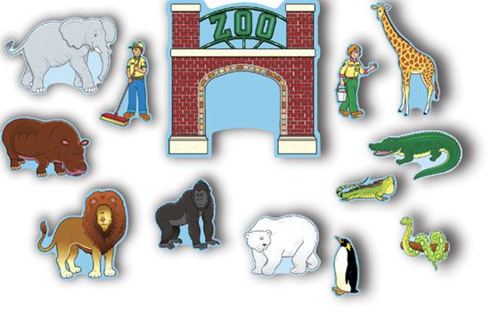 zoo bulletin board | Zoo Animals Bulletin Board | MonsterMarketplace.com