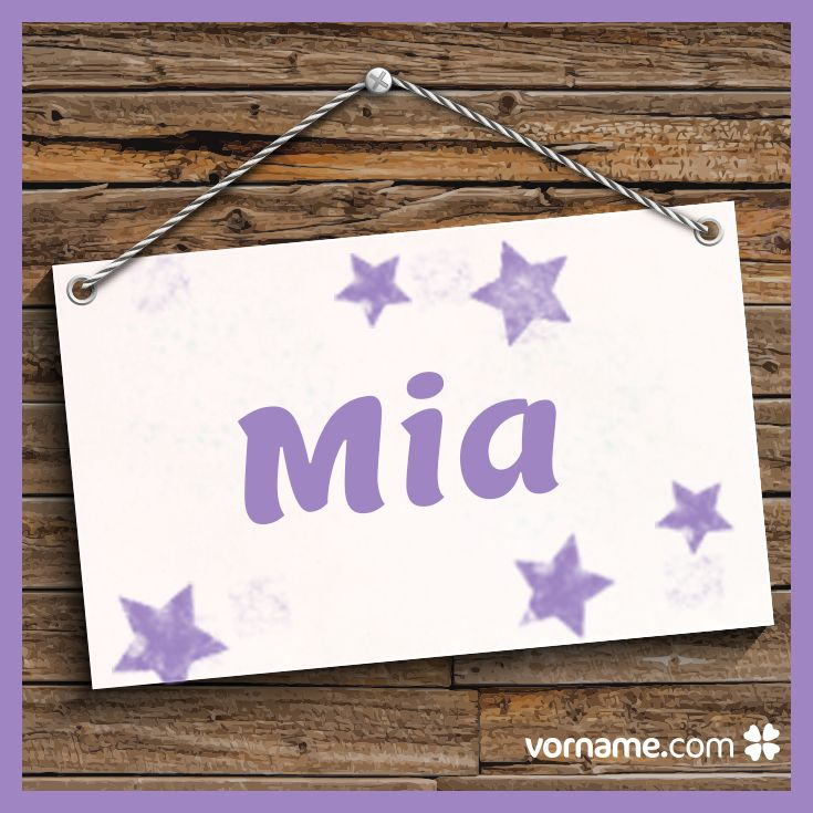 Gefällt Dir der Name Mia auch so gut wie uns? Dann finde heraus, woher der beliebte Mädchenname kommt, was er bedeutet, wann sein Namenstag ist und vieles mehr. Alle Infos zum Vornamen Mia auf Vorname.com entdecken!