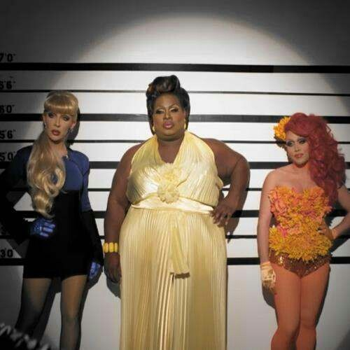 Chad Micheals,Latrice Royale and Phi Phi O'hara