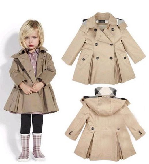 Burberry trench for a little girl!  Loving Hearts Child Care and Development Center in Pontiac, MI is dedicated to providing exceptional tender loving care while making learning fun!  If you want to know more about us, feel free to give us a call at (248) 475-1720 or visit our website www.lovingheartschildcare.org for more information!