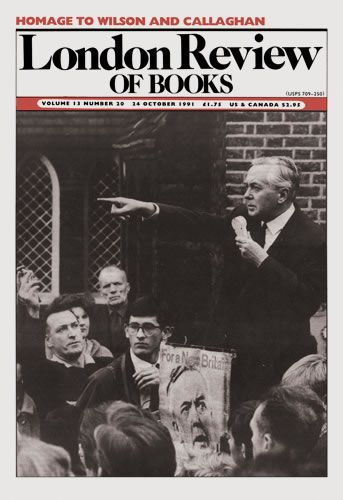 London Review of Books. 24 October 1991.