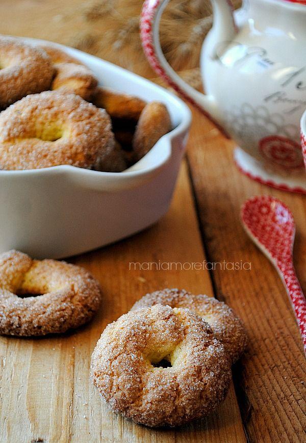 biscotti per il latte, perfetti per l'inzuppo