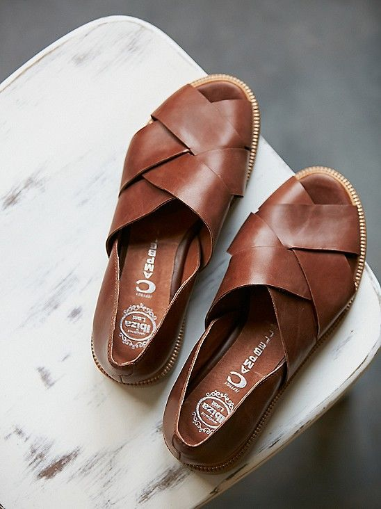 Tan · Leather Slip OnsMens ...