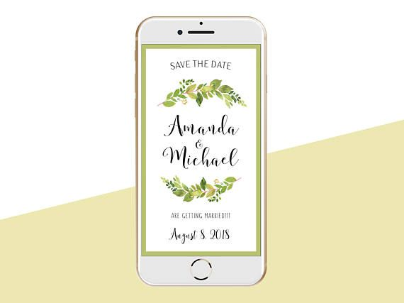 Paperless Invitations Wedding: 25+ Best Electronic Save The Date Ideas On Pinterest