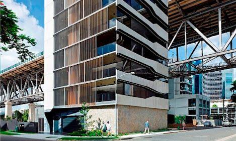 Brisbane's SILT Apartment
