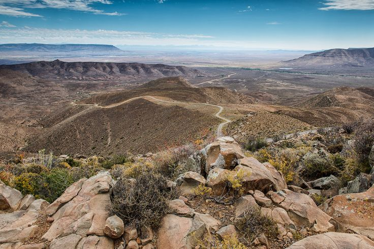Ouberg Pass - Sutherland to the Tankwa Karoo, Northern Cape (South Africa).