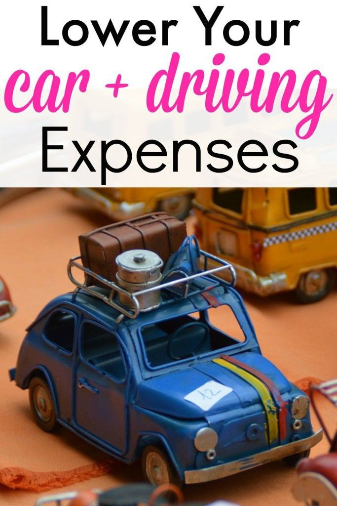 These are some great tips on how to lower car expenses and driving costs!