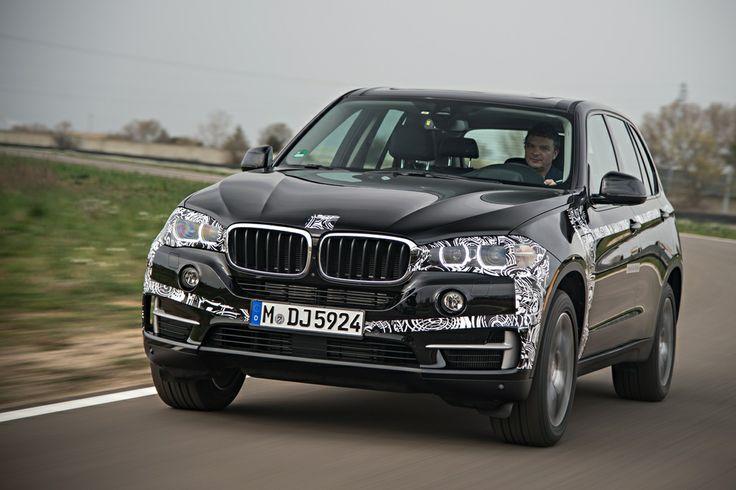 Testride with the BMW X5 eDrive: www.neuwagen.de/…
