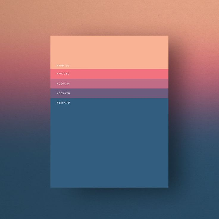 Minimal web color palettes/combination with hex code - 1