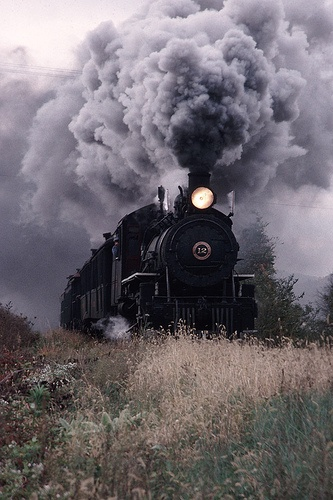 I miss hearing this steam engine on the weekends!!! Here's hoping the EBT opens again soon!