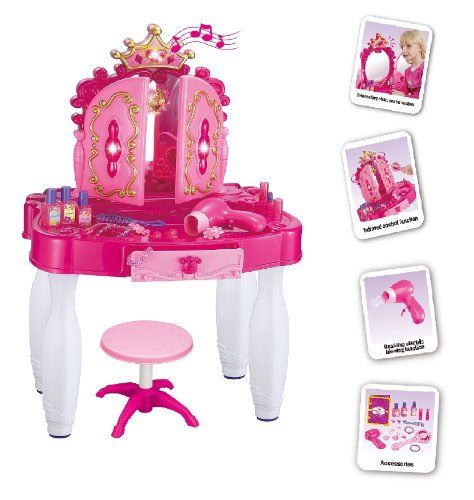 Princess vanity Case Electronic MP3 Childrens Dressing Table With Light And Sounds Vinsani http://www.amazon.co.uk/dp/B00M96CQPA/ref=cm_sw_r_pi_dp_J9bgub0JK2DP3
